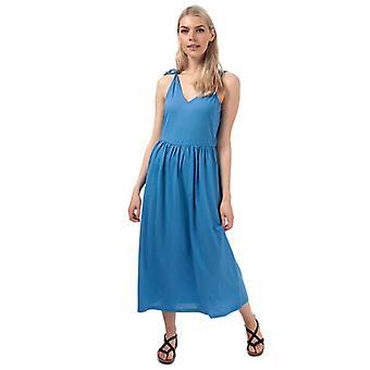 Vrouwen's Vero Moda Rebecca Maxi Jurk in Blauw