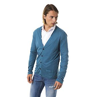 Cardigan Green Byblos Man