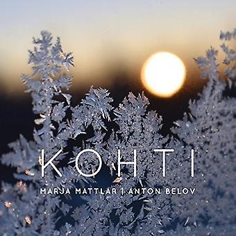 Mattlar*Marja / Belov*Anton - Khoti [CD] USA import