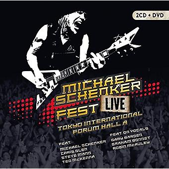 Michael Schenker - Fest: Live Tokyo International Forum Hall a [CD] USA import