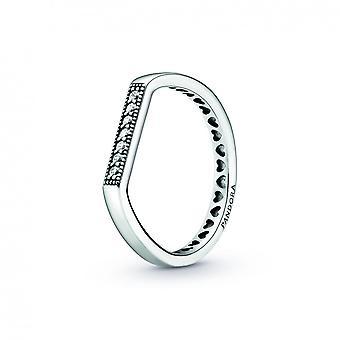 Fine Pandora Signature Bar Ring 199041C01 - Anillo Pandroa para Mujer