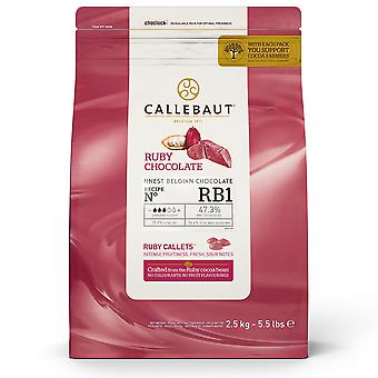 Callebaut Ruby Chocolate 'RB1' Callets