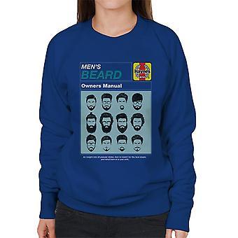 Haynes Herre Skæg Ejer Manual Women's Sweatshirt