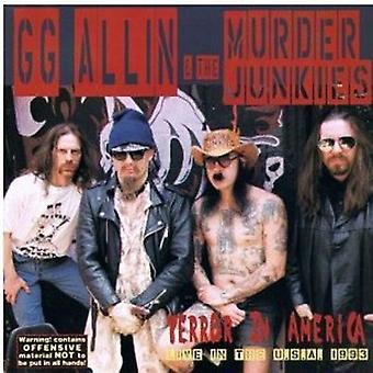 GG Allin & moord Junkies - terreur in America [Vinyl] USA import