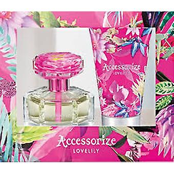 Accessorize Lovelily Gift Set 75ml EDT + 100ml Body Lotion