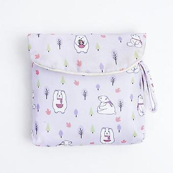 Women Tampon Holder Makeup Storage Bag Organizer - Tampon Storage Bag Napkin Cosmetic Bags Organizer