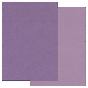 Papier parchemin Groovi A5 Deux tons violet