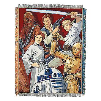 Woven Tapestry Throws - Star Wars Classic - Rebel Forces New 037950