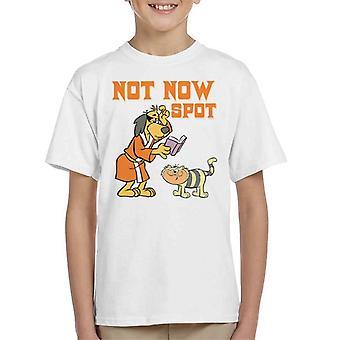Not Now Spot Hong Kong Phooey Kid's T-Shirt