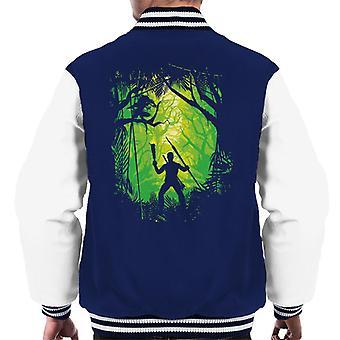 Jungle Duel Predator Men's Varsity Jacket