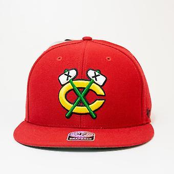47 Marke Nhl Chicago Blackhawks Logo Snapback Cap