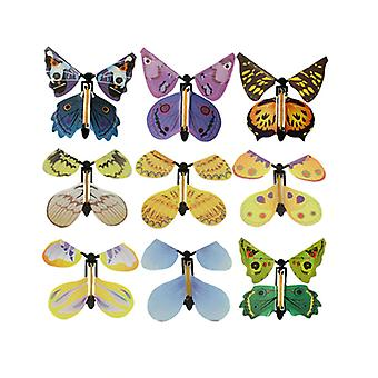 5pcs Flying Butterfly Toy-wedding Magic Props Tricks