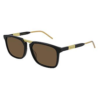 Gucci GG0842S 001 Black/Brown Sunglasses