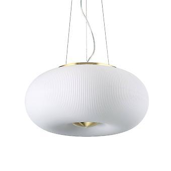 Ideel Lux Arizona - 3 lys runde loft vedhæng Hvid