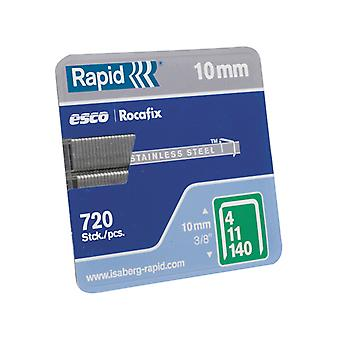 Rapid 140/12 12mm Galvaniseerde Staples Box 2000 RPD14012