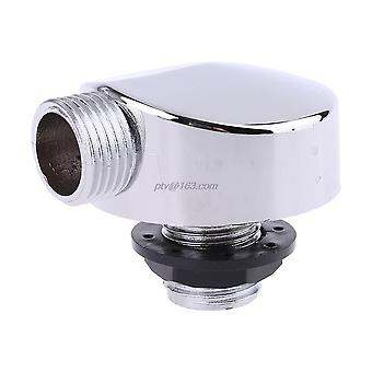 Chromed Plastic Shower Connector, Bathtub Shower Cabin Room Accessories Parts