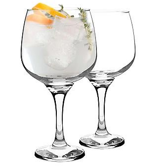 Rink Drink 2 Piece Balloon Gin Glass Set - Large Copa Style Bowl Glass - 730ml