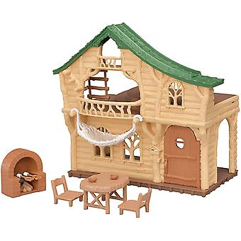 Sylvanian Familien Lakeside Lodge Kinder Spielzeug