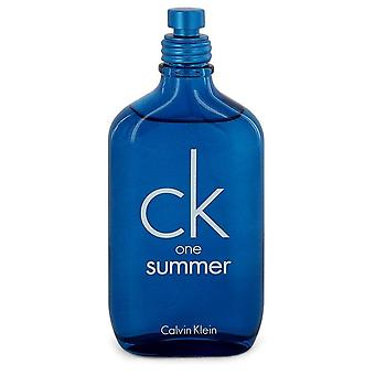 Ck One Summer Eau De Toilette Spray (2018 Unisex Tester) By Calvin Klein 3.4 oz Eau De Toilette Spray