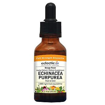 Eclectic Institute Inc Echinacea Purpurea, Orange 2 Oz Sans alcool