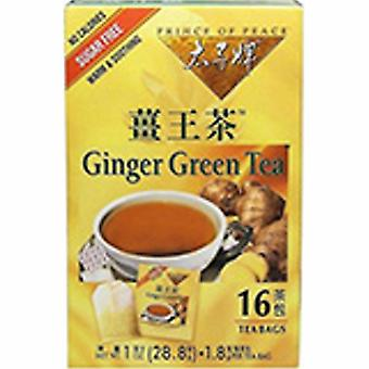 Prince Of Peace Ginger Green Tea, 16 bags