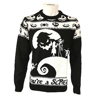 Nightmare Before Christmas Unisex Adult You´re A Scream Sweatshirt