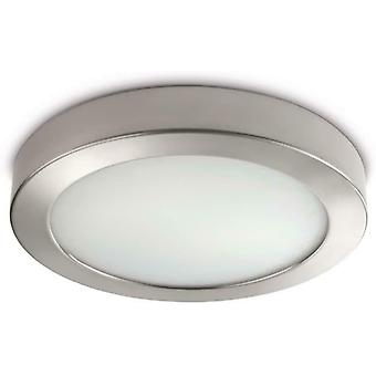 Philips MyLiving Octagon Ceiling Wall Light Chrome Includes 2x 12 Watts E14 Bulb