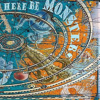 Jon Langford & Skull Orchard - Here Be Monsters [Vinyl] USA import