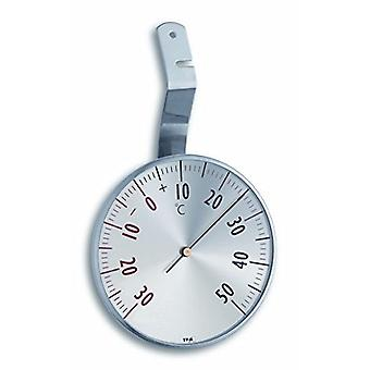 Analogue Window Thermometer Made of Stainless Steel 14.5003