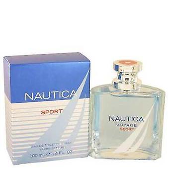 Nautica Voyage Sport By Nautica Eau De Toilette Spray 3.4 Oz (men) V728-533925