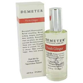 Demeter tuore Ginger by Demeter Cologne spray 4 oz (naiset) V728-455610