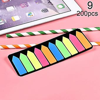Colored Memo Pad, Lovely Sticky Paper, Post It Notes