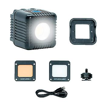 Lume cube 2.0 waterproof & daylight balanced led light for photo, video, content creation for dji, g