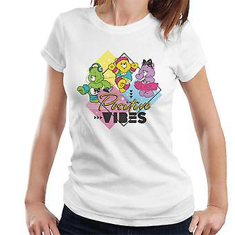 Care Bears Good Luck Bear Positive Vibes Women's T-Shirt