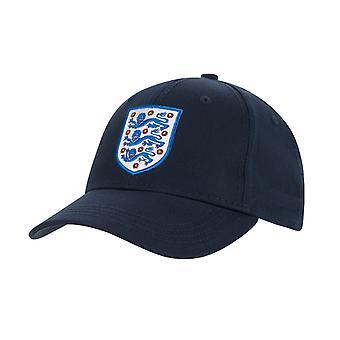 Engeland Core Football Supporter Fan Baseball Cap Hat Navy Blue