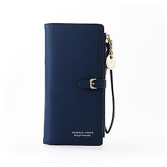 Women/female Wallets Clutch Purse Zipper Phone Pocket Card Holder
