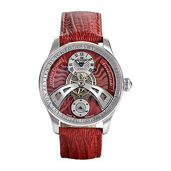 Carl von Zeyten Men's Watch Wristwatch Automatic Freudenstadt CVZ0043RD