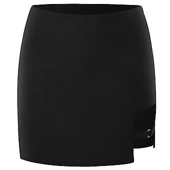 Korean Style Slim Skirt Irregular Sexy Half-length Micro Skirt