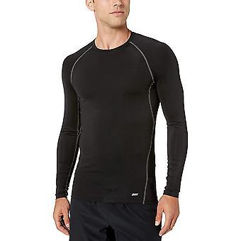 Essentials Men's Control Tech Langarm Shirt, schwarz, klein