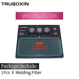 Li Battery Solar Auto Darkening Filter Lens For Welding Mask And Helmet