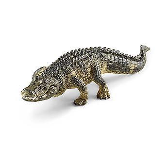 Schleich 14727 Alligator Animal Figure Wild Life
