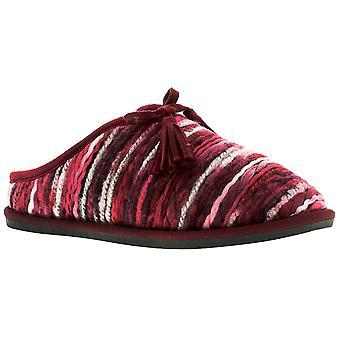 Dr Keller Alexa Womens Ladies Mule Slippers Red UK Size