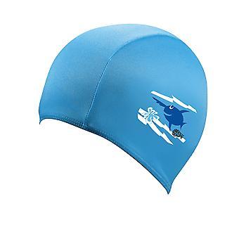 BECO Sealife Junior Polyester Swimming Cap - Blue