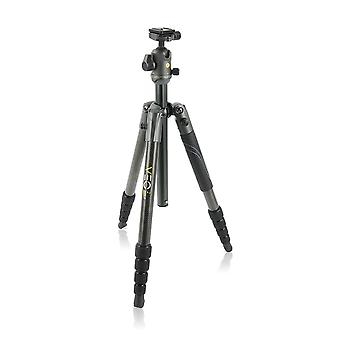 Vanguard veo 2 265cb carbon fiber travel tripod with veo 2 bh-50 ball head for sony, nikon, canon, fujifilm mirrorless, compact system