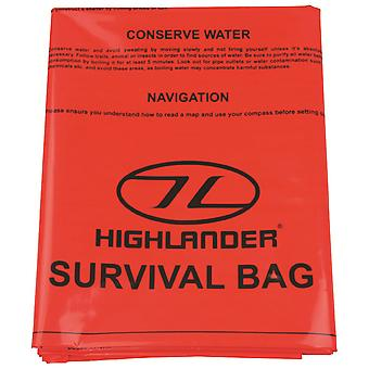 Highlander dubbel överlevnad Bivi Bag