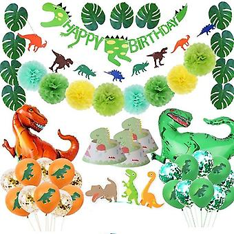 Dino Party Supplies Dinosaur Balloons Paper Straw