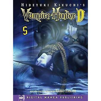 Hideyuki Kikuchis Vampire Hunter D Manga Volume 5 by Hideyuki Kikuchi