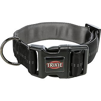 Trixie Collar Softline Elegance Extra Ancho Negro/Grafito