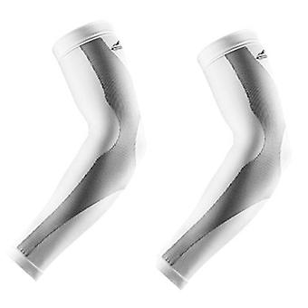 2pcs Arm Sleeves Breathable Quick Dry Uv Protection Arm Warmers