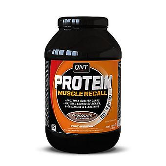 QNT Protein Muscle Recall  Whey Protein & Carbohydrate Mix 1.5kg Chocolate